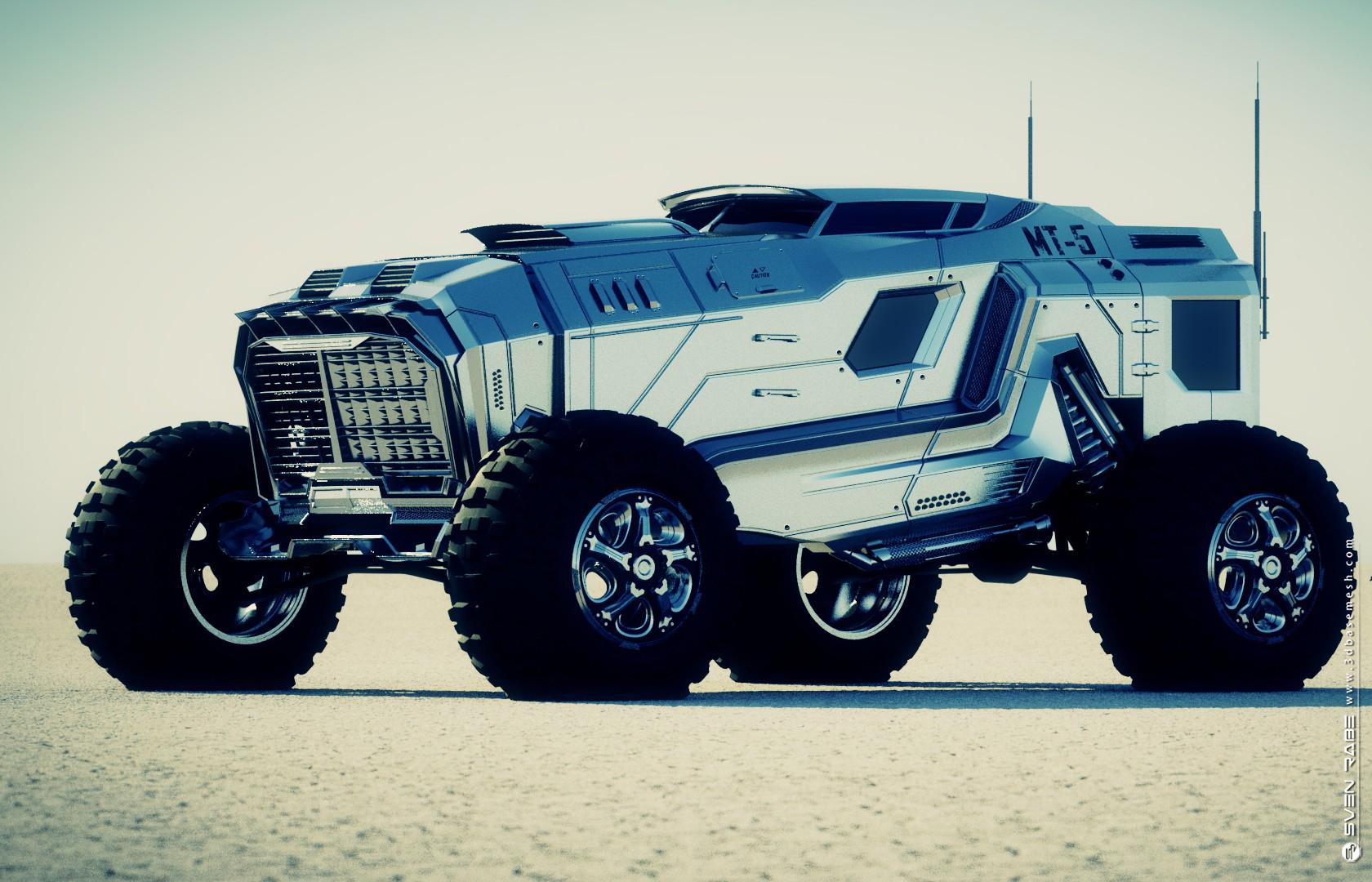 Concept vehicle – MT-5   SVEN RABE - CG Modeler   3D Artist